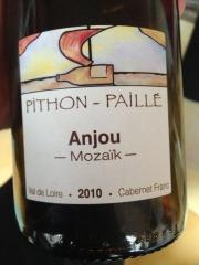 anjou rouge mozaik 2010 Pithon Paillé