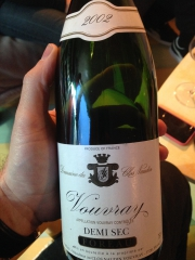 Vouvray sec 2002 Foreau