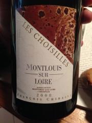Montlouis Les Choisilles 2008 Chidaine